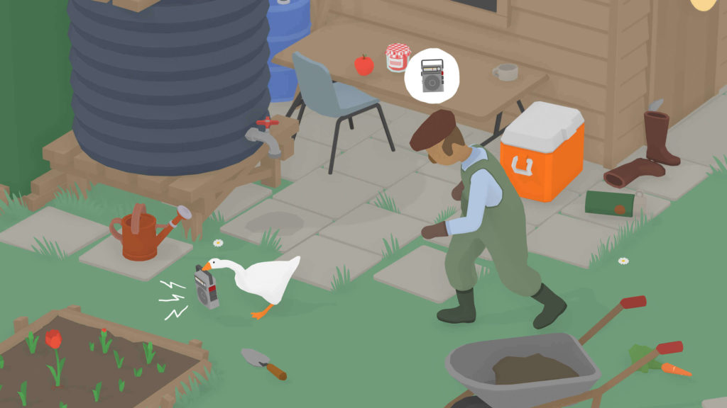 Untitled Goose Game Oyna